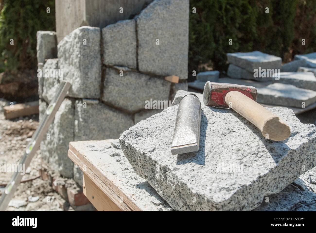 Stone Hammer Stock Photos & Stone Hammer Stock Images - Alamy