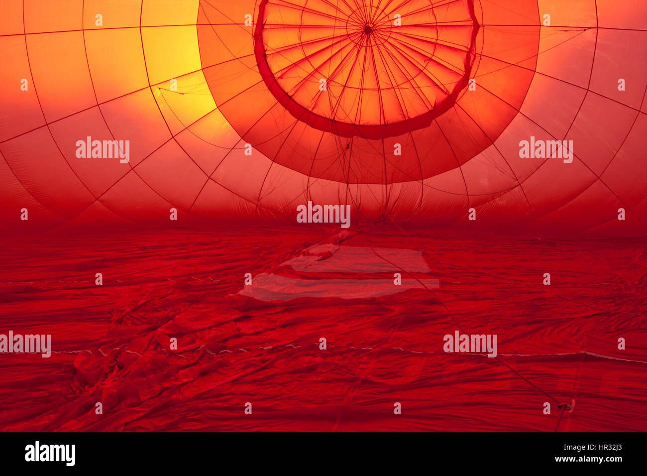red upwards - Stock Image
