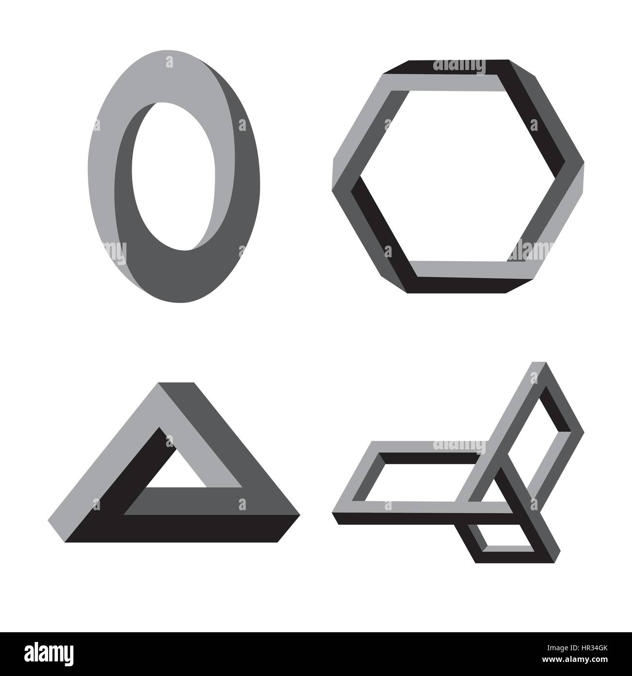 Modern abstract vector logo or element design. Best for identity and logotypes. Simple shape. - Stock Vector
