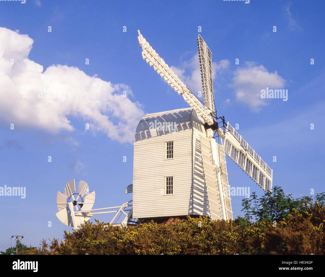 Thorpeness Windmill, Thorpeness, Suffolk, England, United Kingdom - Stock Image