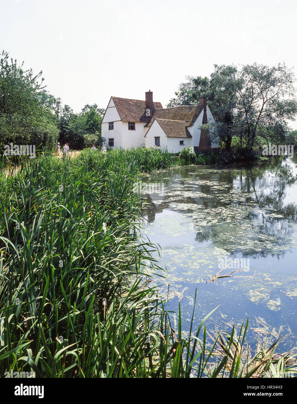 Willy Lott's Cottage, Flatford, East Bergholt, Suffolk, England, United Kingdom - Stock Image