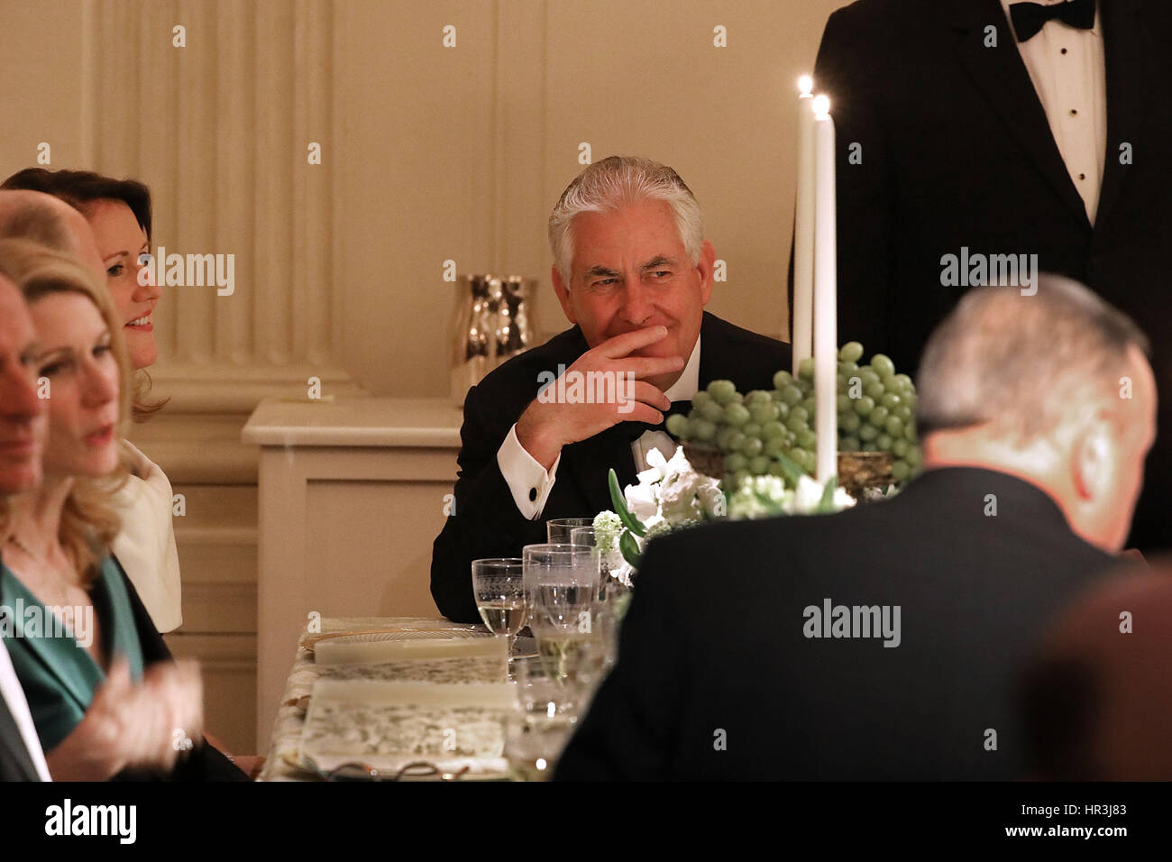 Washington DC, USA. 26th February 2017. United States Secretary of State Rex Tillerson attends the annual Governors - Stock Image