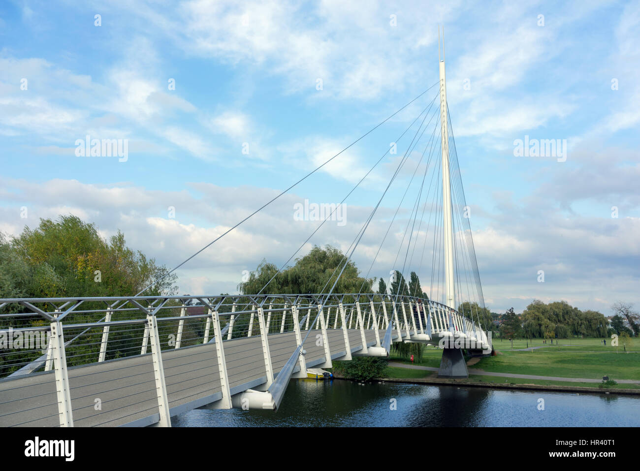 Christchurch Bridge over the River Thames in Reading, Berkshire - Stock Image