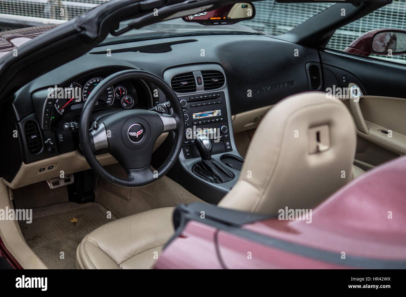 Chevrolet Corvette C6 Interior