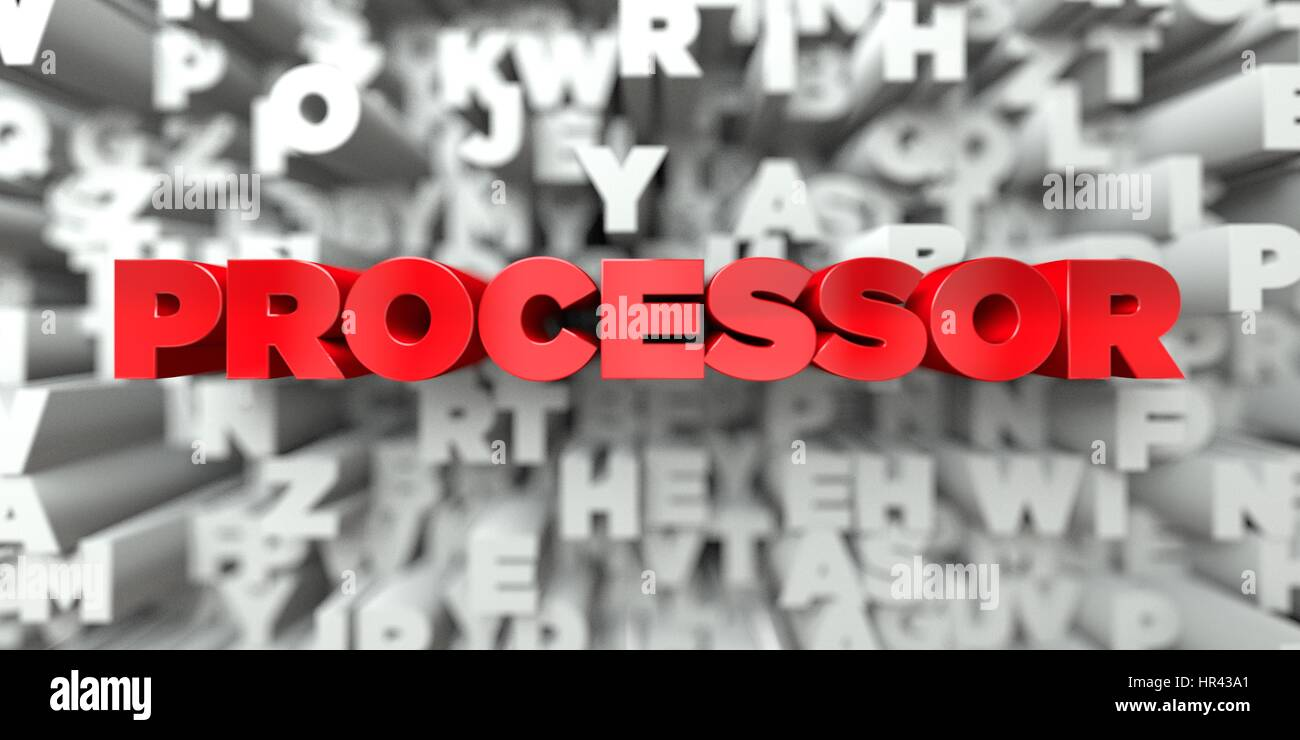 Template Processor Stock Photos Images Circuit Board Of A Cell Phone Royalty Free Image Red Text On Typography Background 3d Rendered This