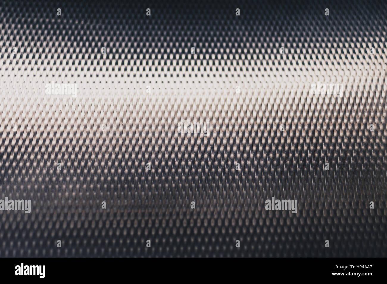 Textured steel surface - Stock Image