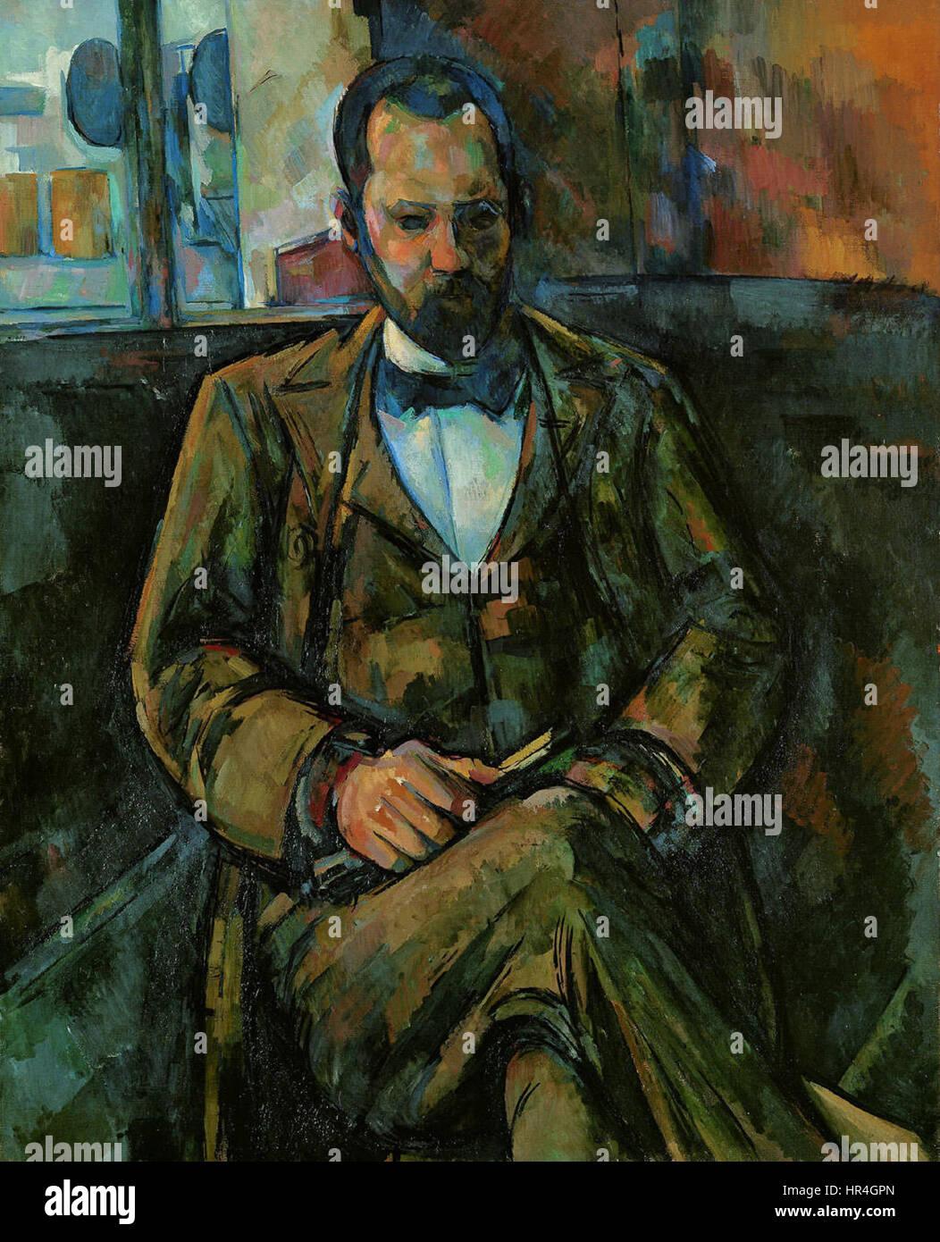 Portrait of Ambroise Vollard - Stock Image