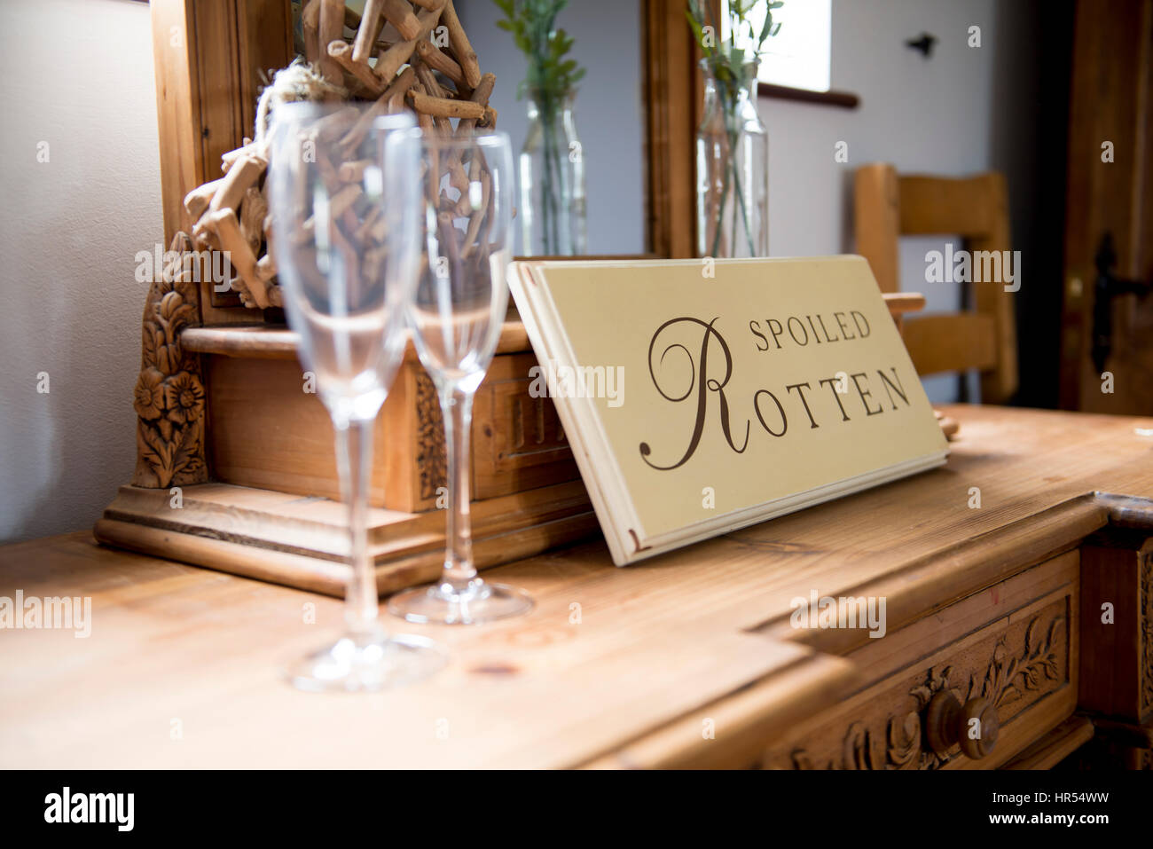 Spoiled Rotten - Stock Image