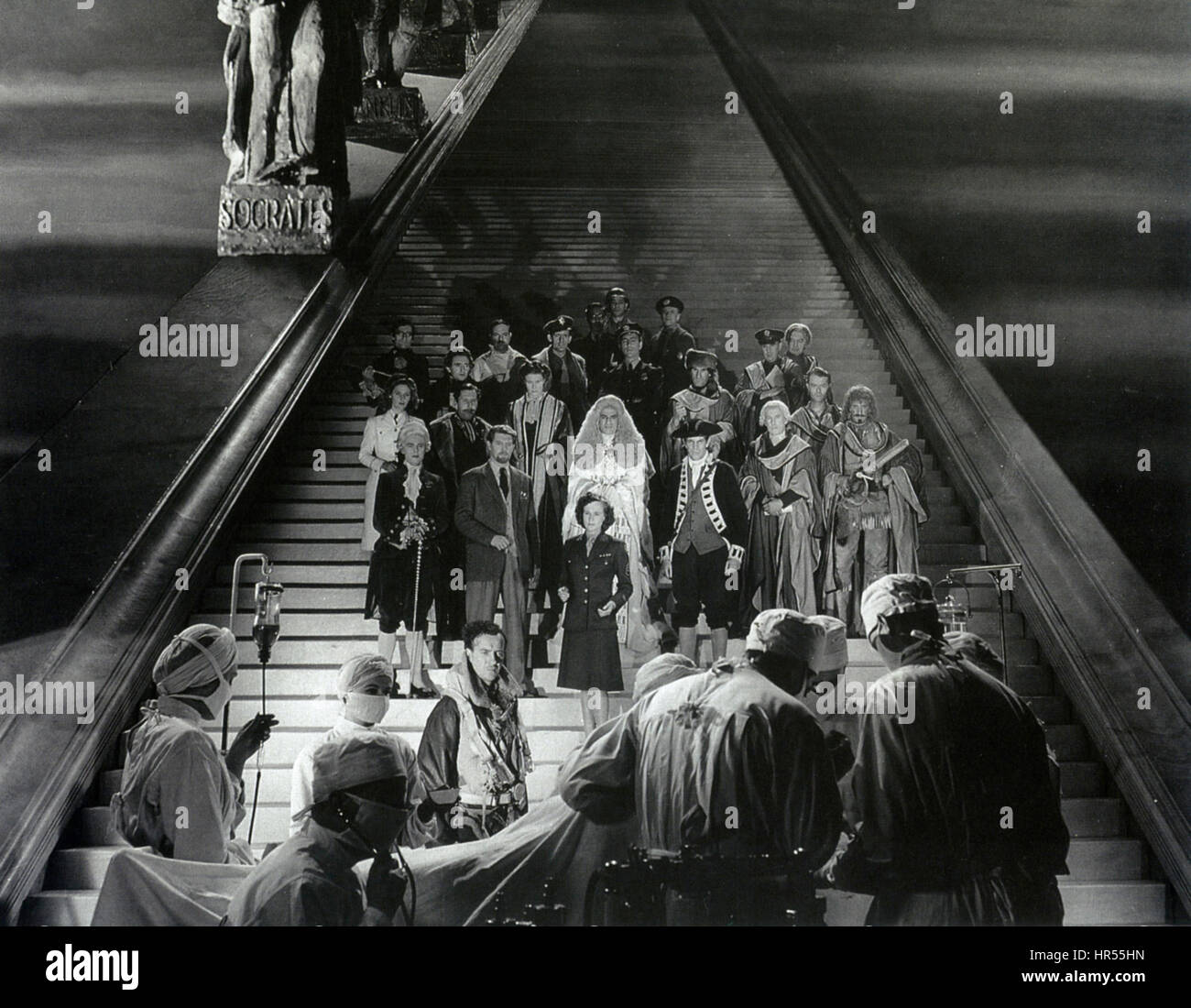 STAIRWAY TO HEAVEN  (aka A MATTER OF LIFE AND DEATH) 1946  J. Arthur Rank film with David Niven - Stock Image