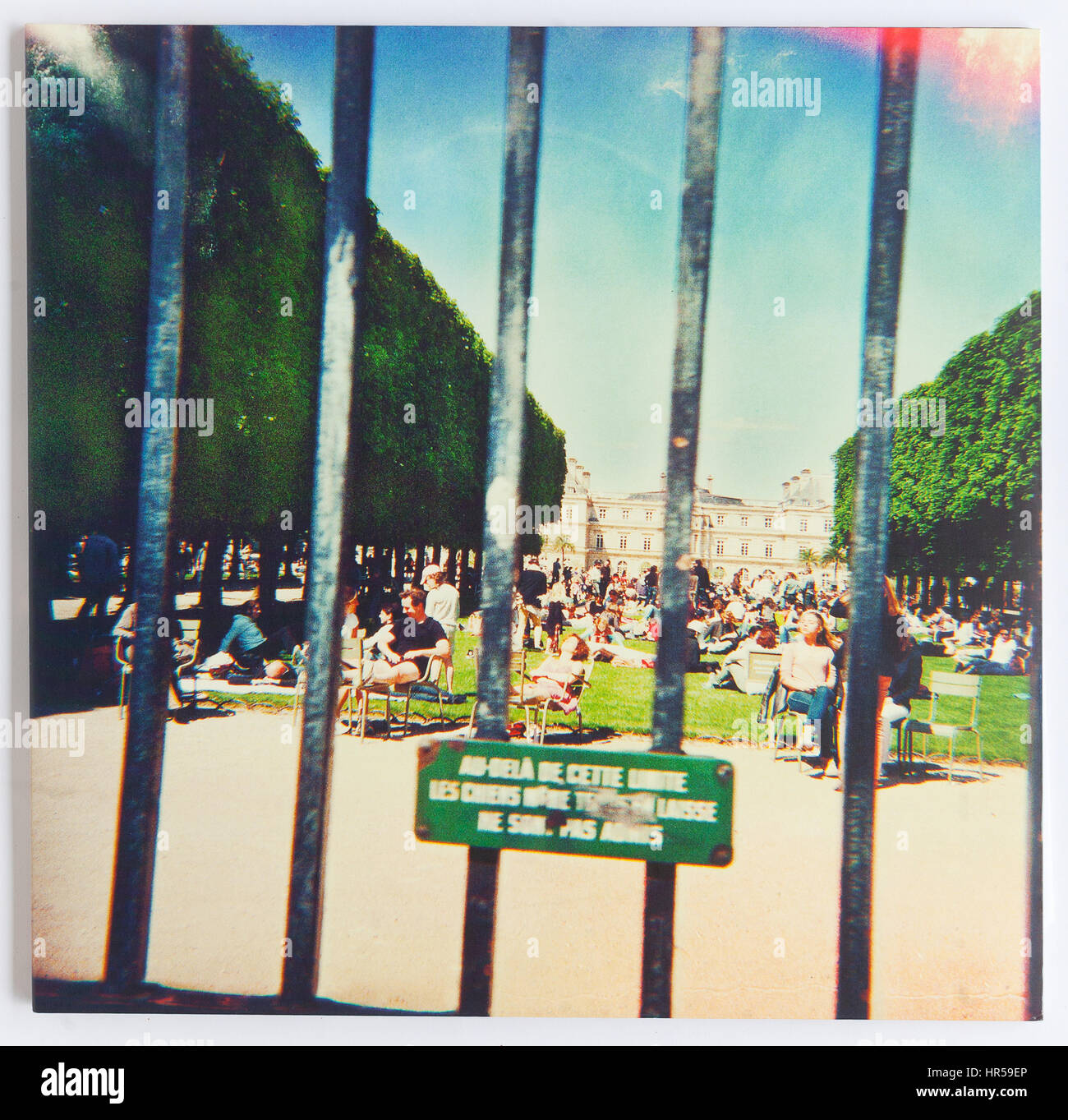 The cover of Lonerism, 2012 album by Tame Impala on Modular - Stock Image