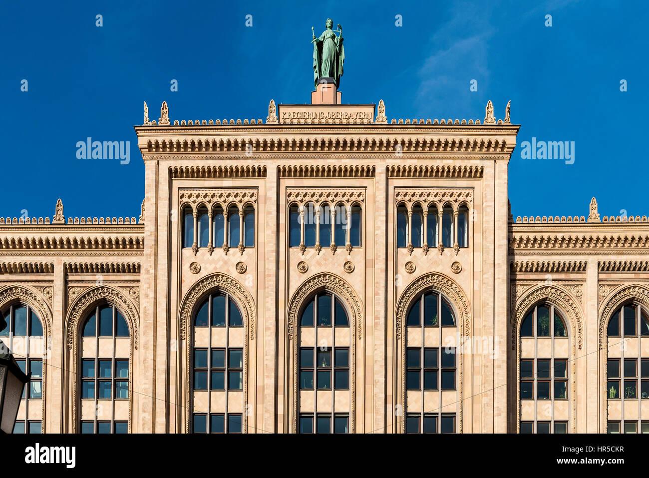 Regierung von Oberbayern, München, Germany Stock Photo