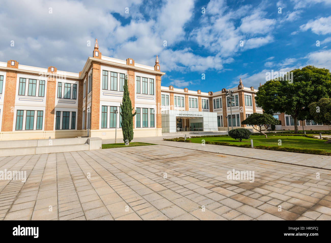 Malaga, Spain - December 07, 2016: Automobile Museum in Malaga, Spain. An amazing collection of vintage cars and - Stock Image