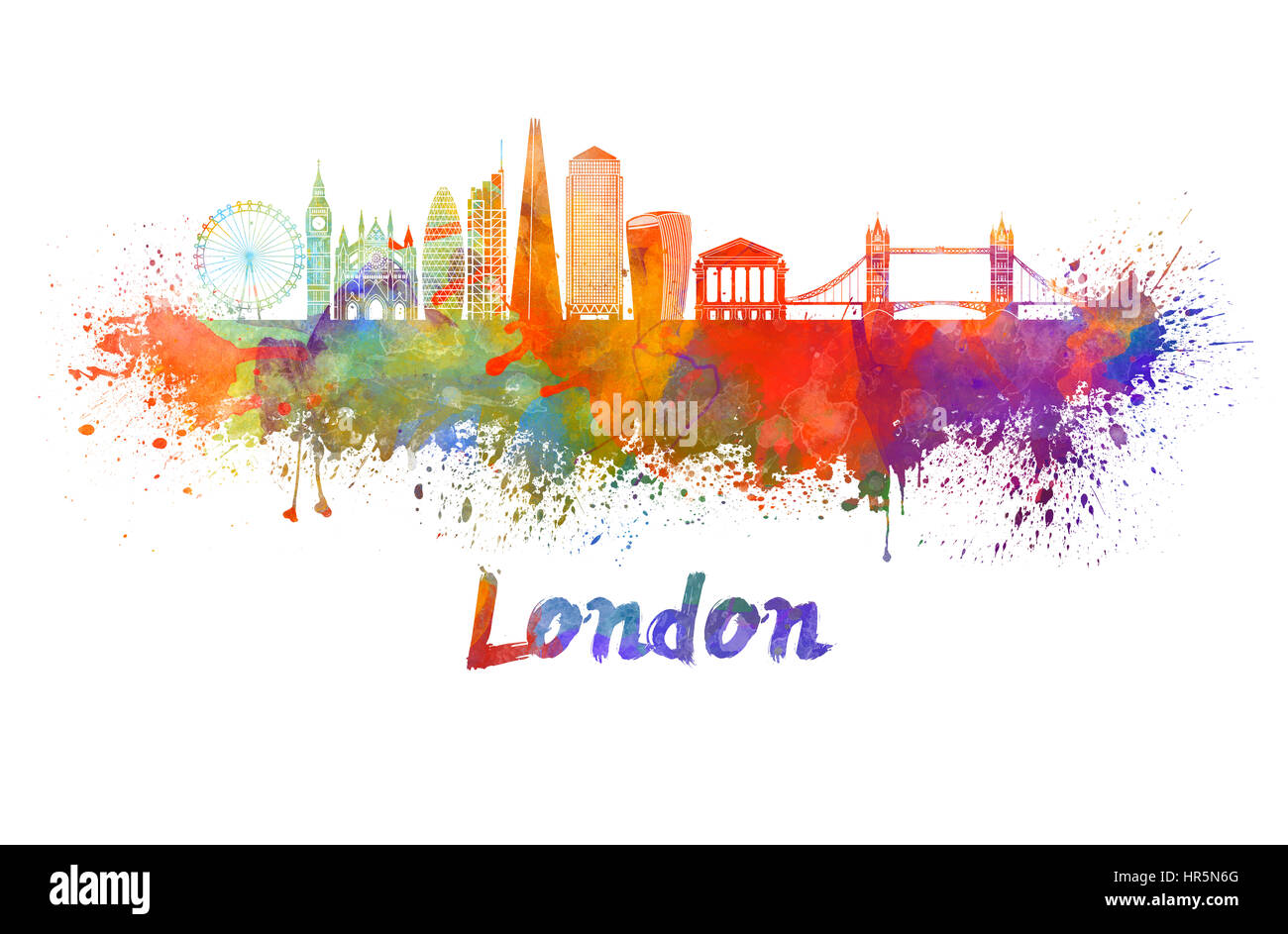 watercolor london stock photos watercolor london stock images alamy