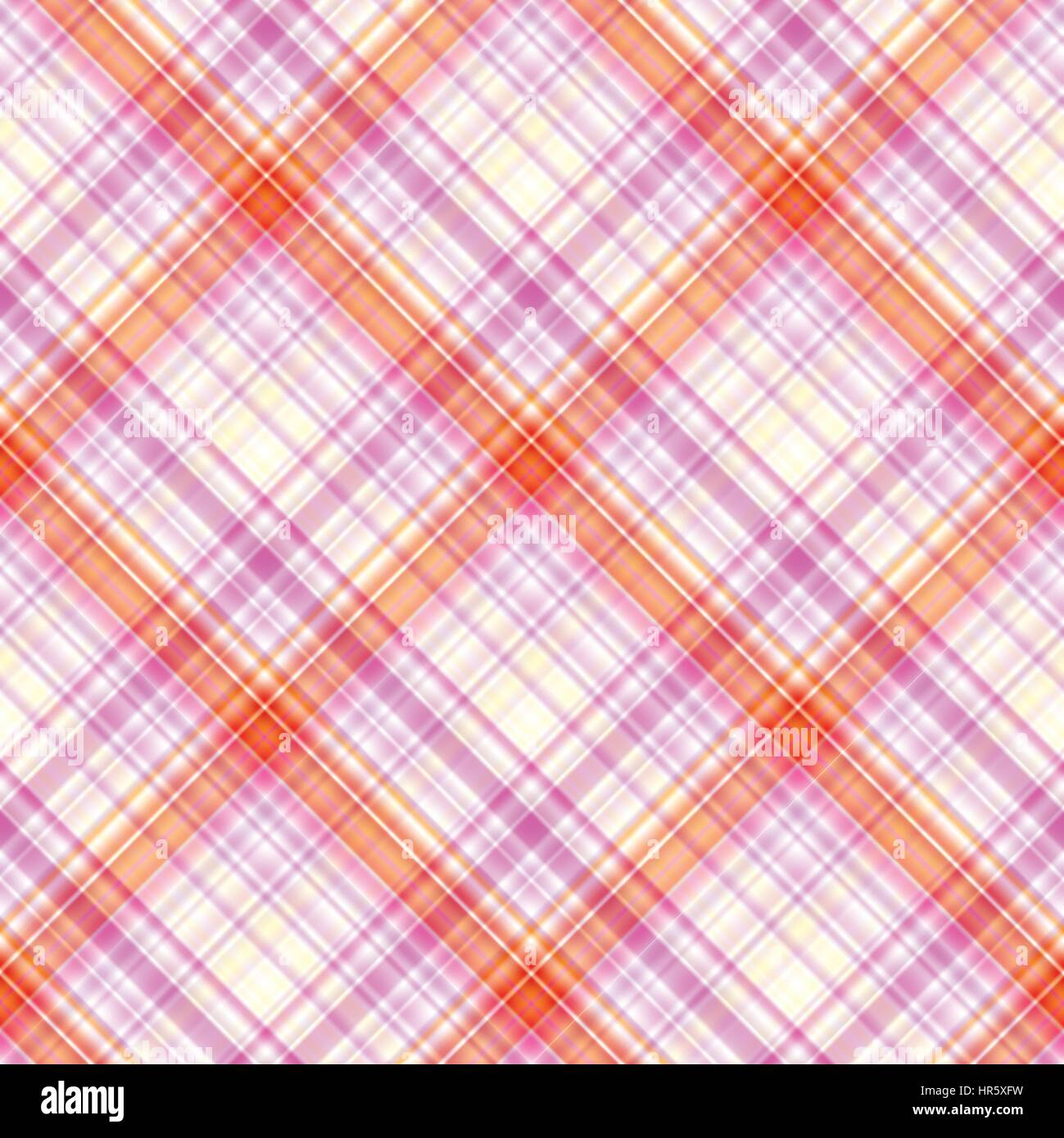 Fabric texture. Seamless tartan pattern. Vector background. - Stock Vector
