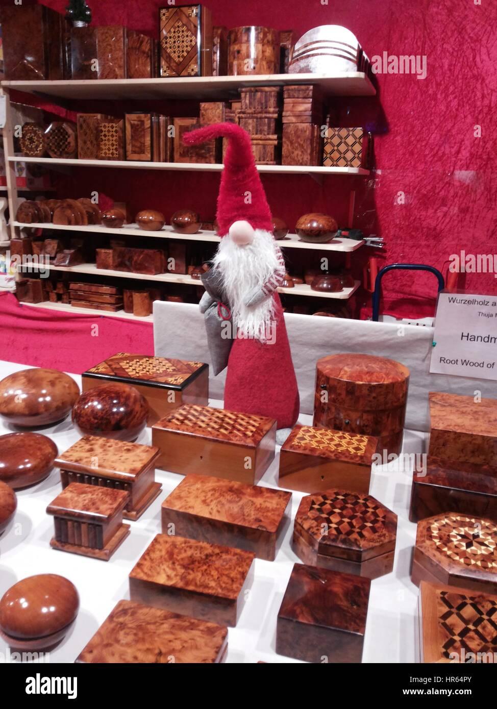 Festive Berlin Christmas Markets and city center, Germany - Stock Image
