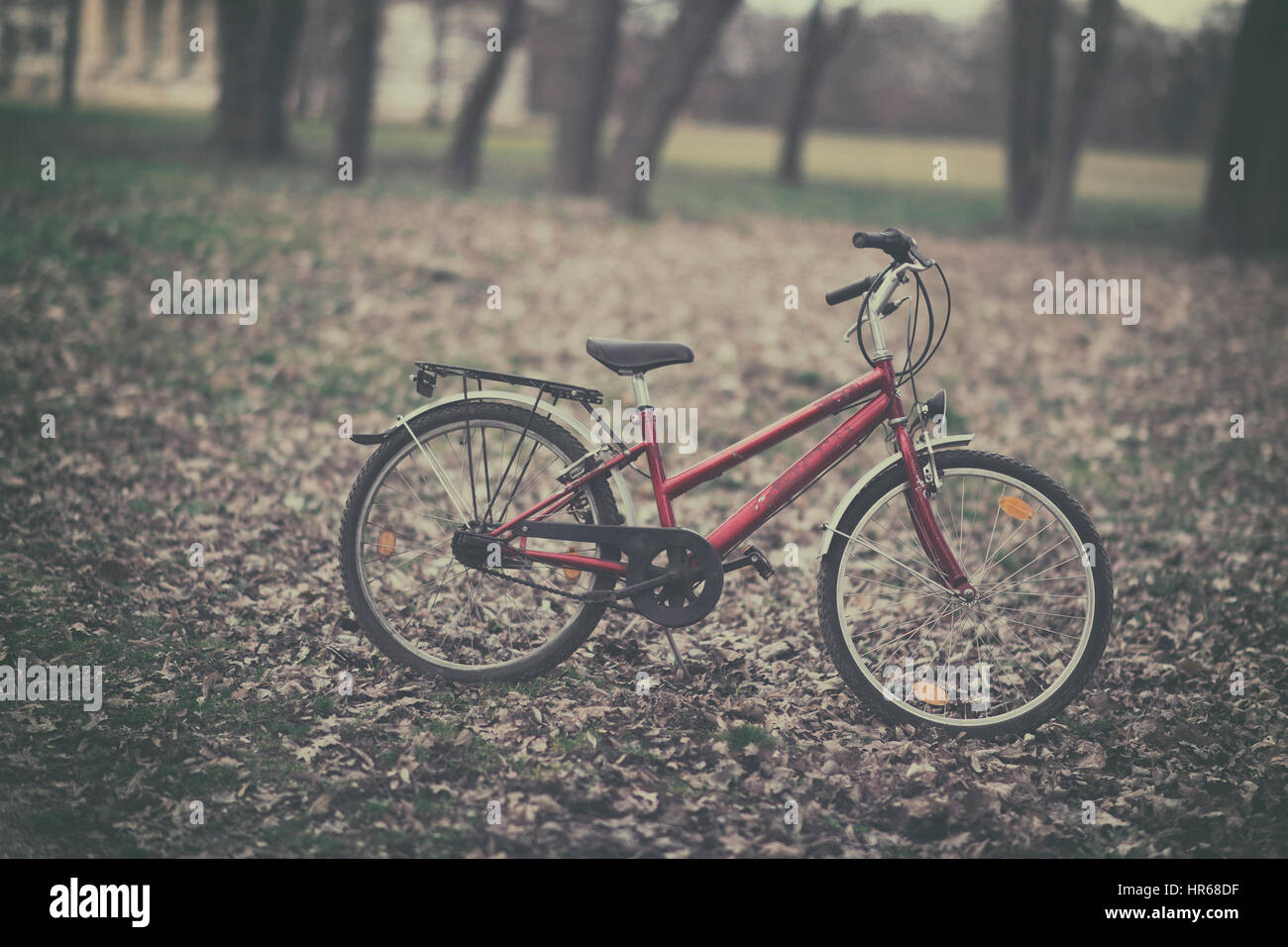 Retro bike - Stock Image