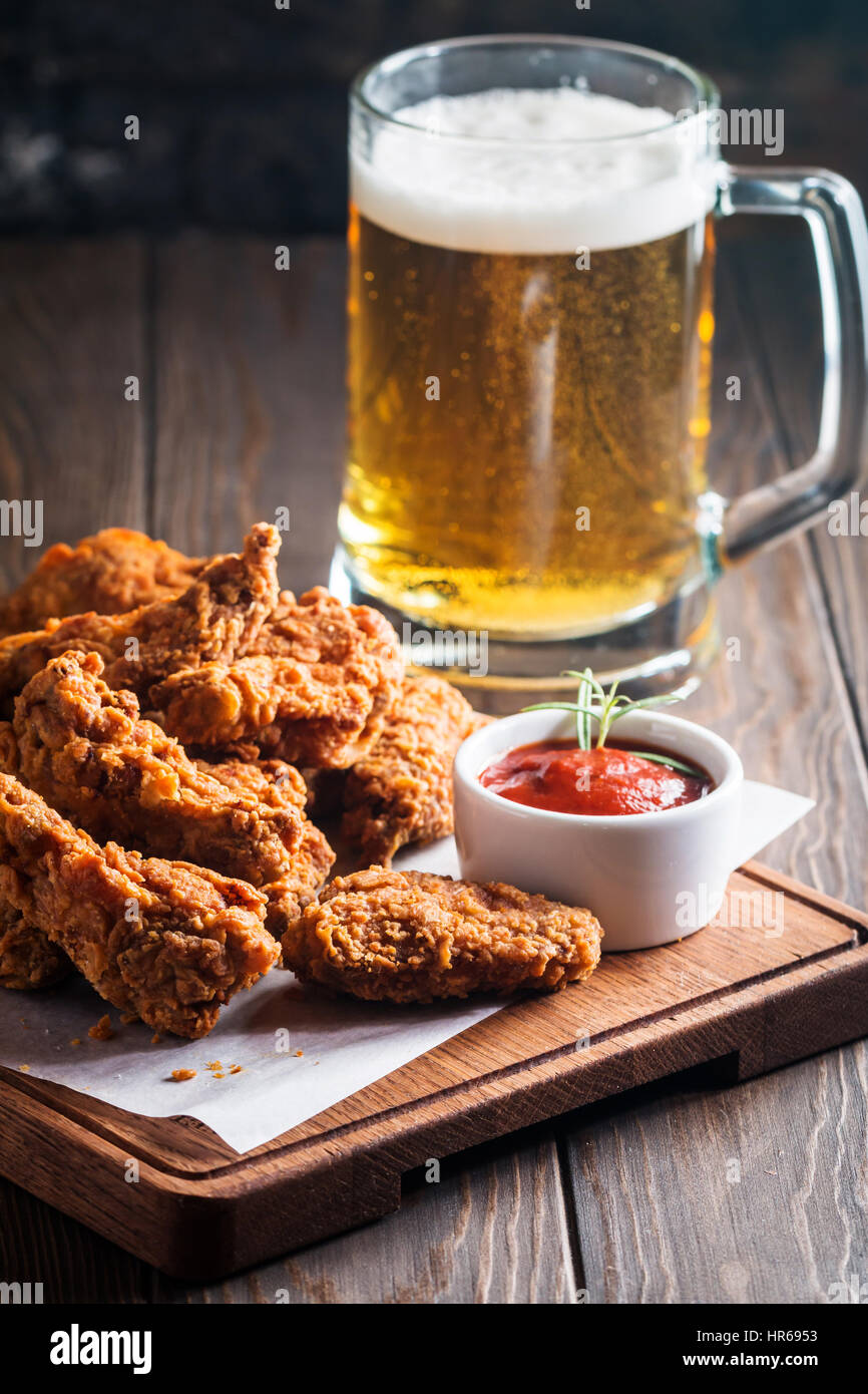 Chicken and beer - photo#38