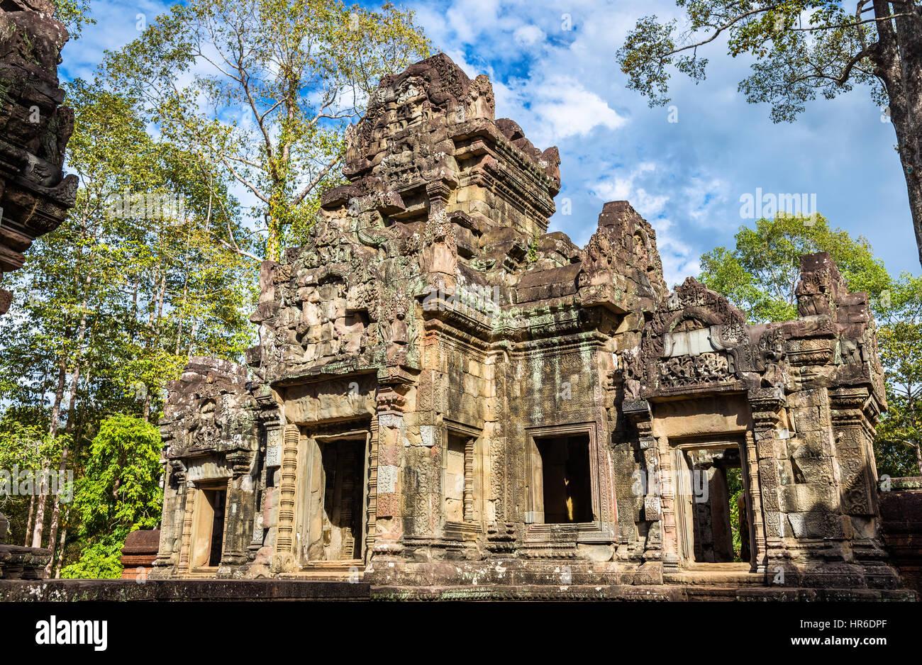 Chau Say Tevoda temple at Angkor, Cambodia - Stock Image
