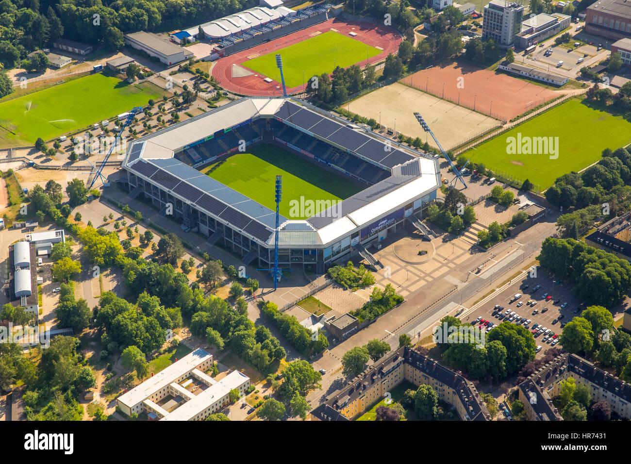 Ostsee Stadium Premiere League Stadium Fc Hansa Rostock Rostock Stock Photo Alamy