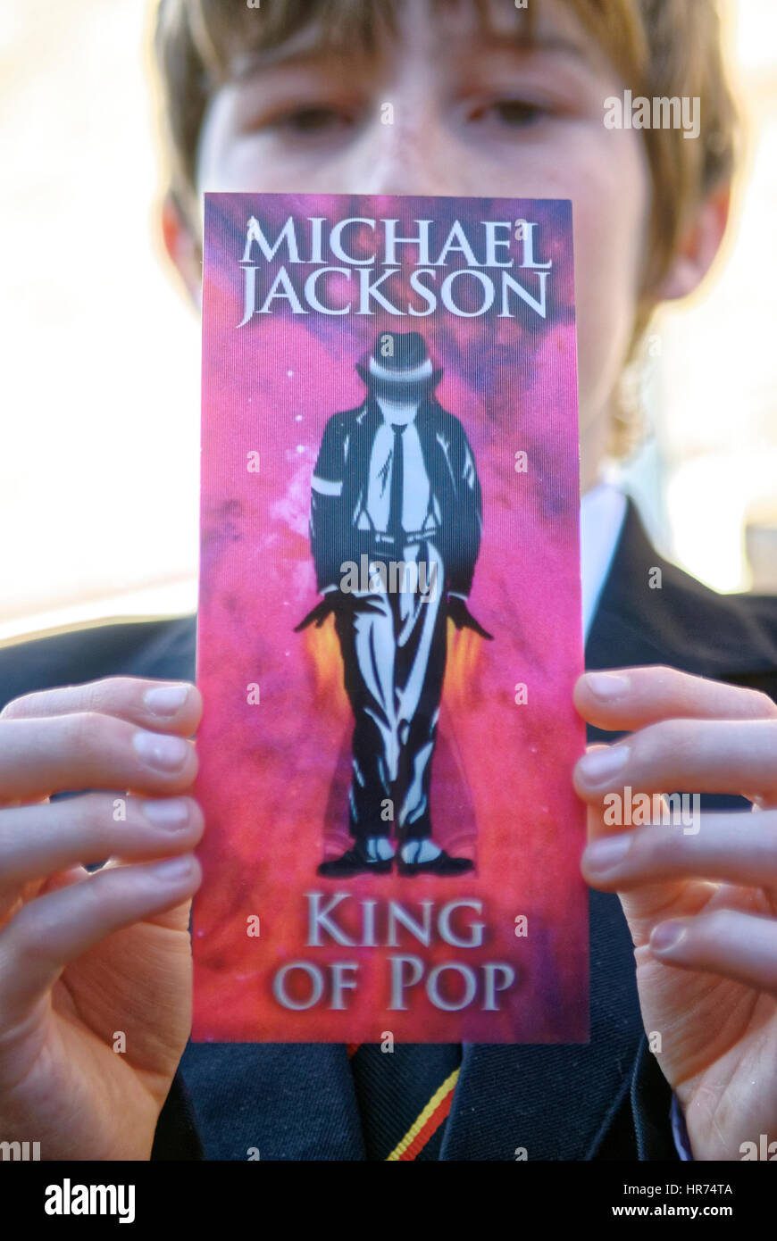 Michael Jackson Concert Ticket For The This Is It 2009 2010 Tour At Stock Photo Alamy