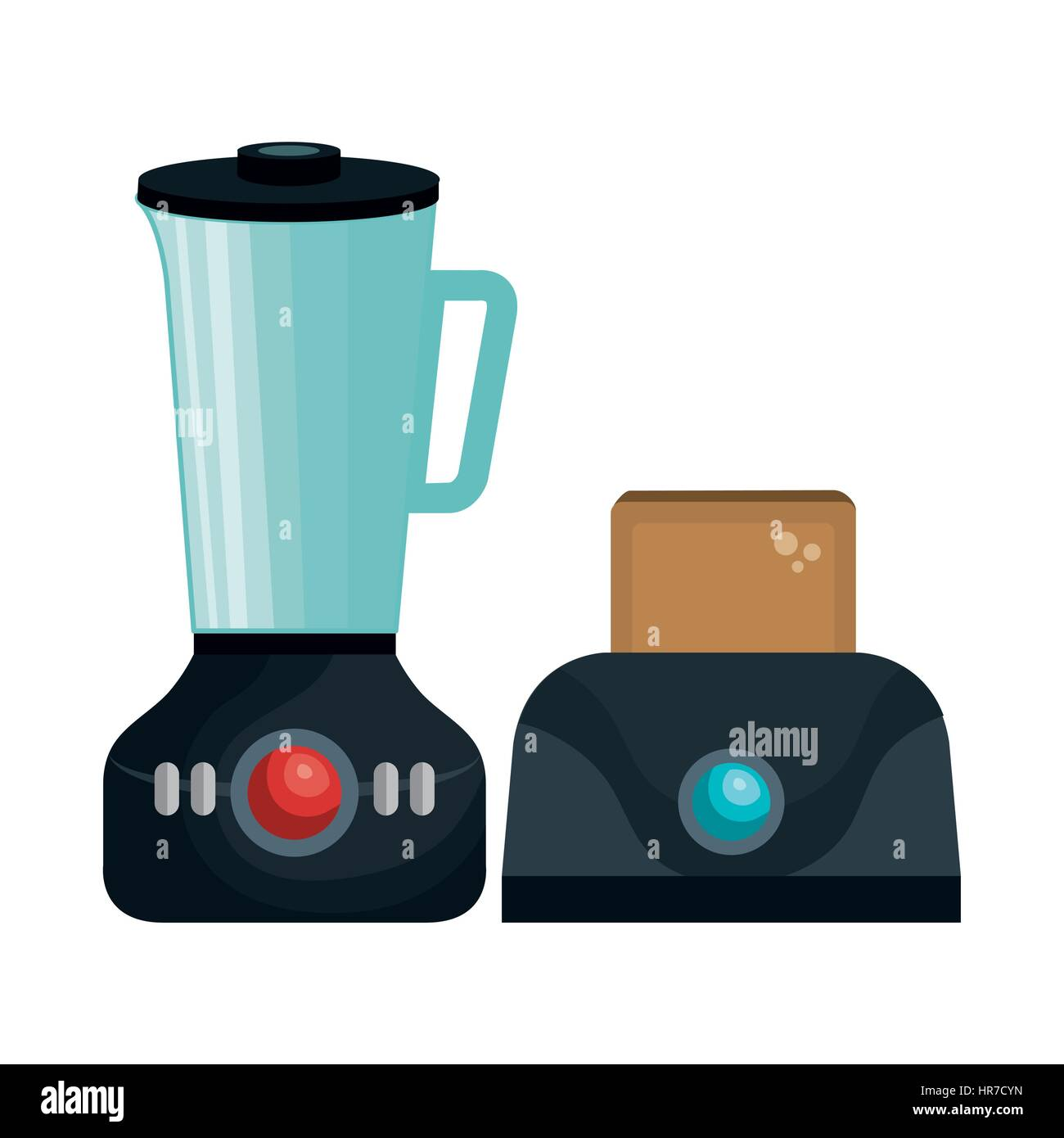 home appliances tech icon - Stock Image