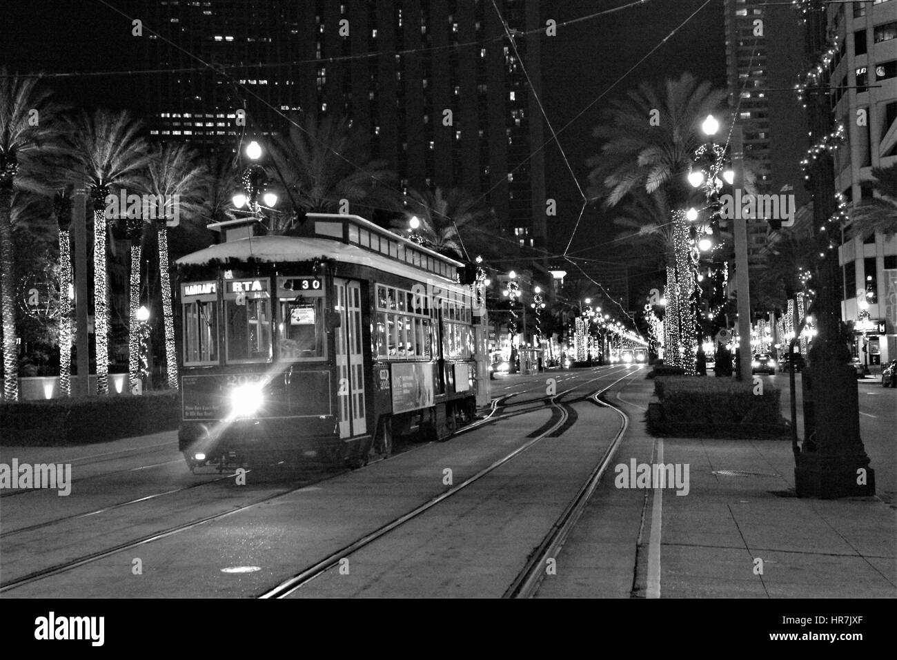 night life - Stock Image