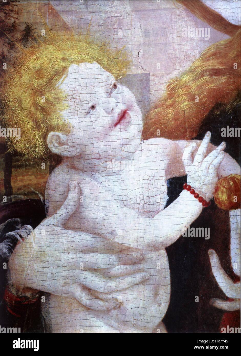 Stuppacher Madonna Jesuskind Stock Photo