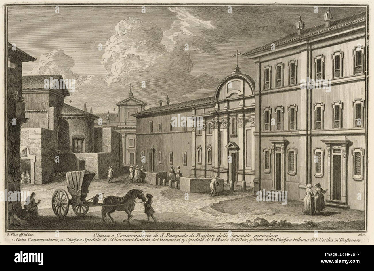 Vasi Conservatorio di San Pasquale Baylon Stock Photo: 134794331 ...
