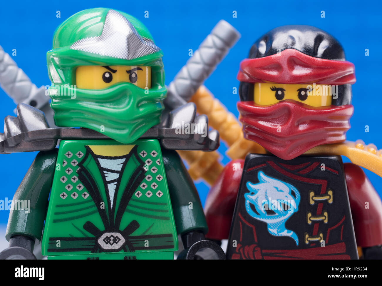 Lego Ninjago Stock Photos & Lego Ninjago Stock Images - Alamy