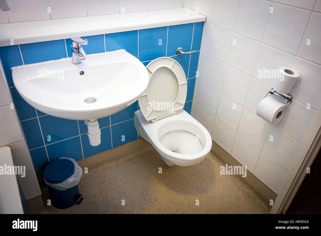 Hotel bathroom - Stock Image