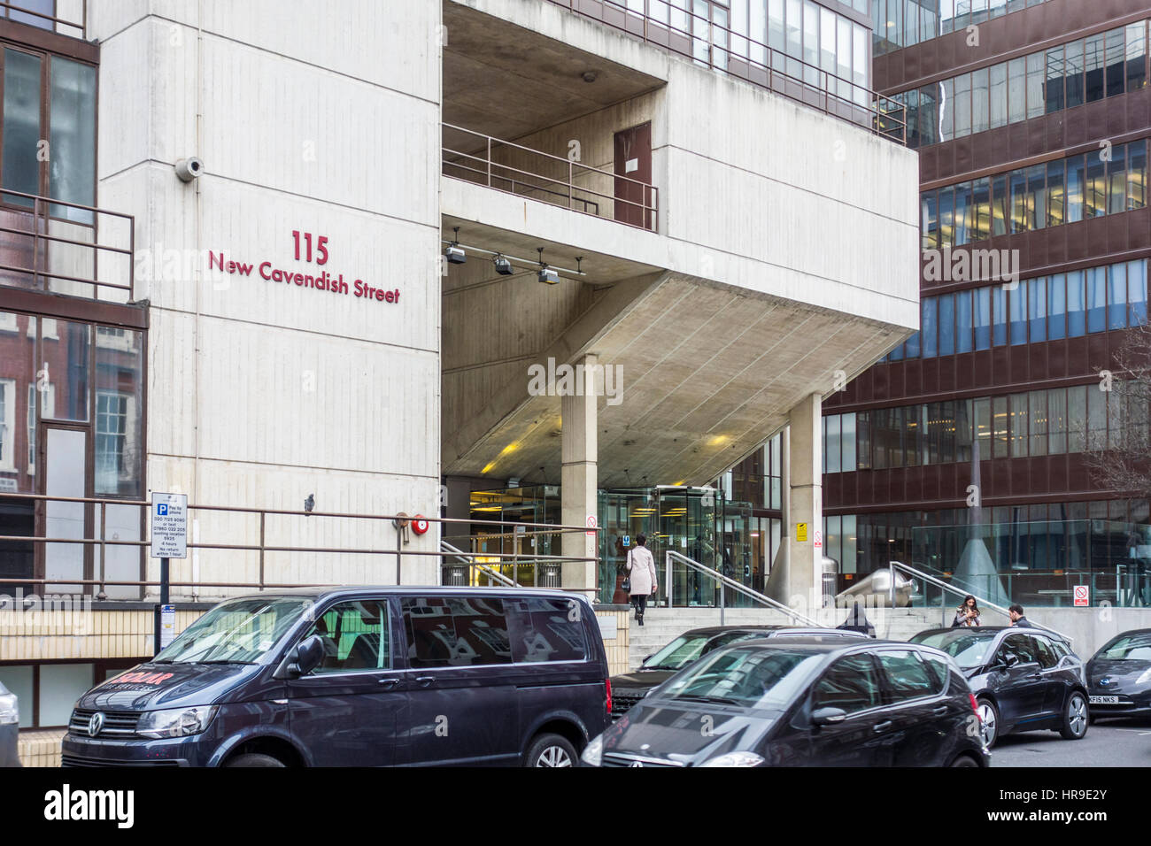 University of Westminster, Cavendish Campus Central London Polytechnic, College of Engineering and Science 115 New - Stock Image