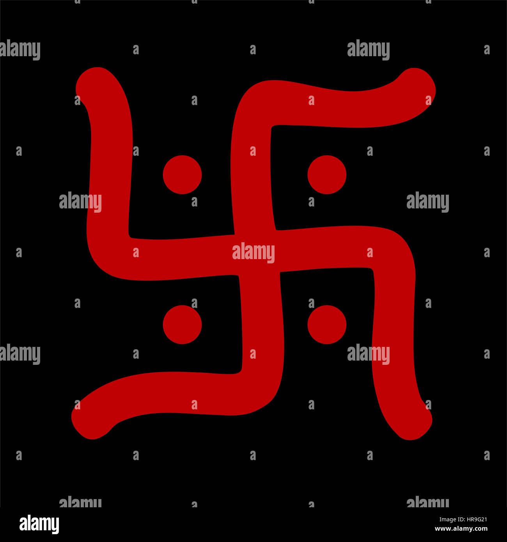 Ancient Swastika Symbol Stock Photos Ancient Swastika Symbol Stock