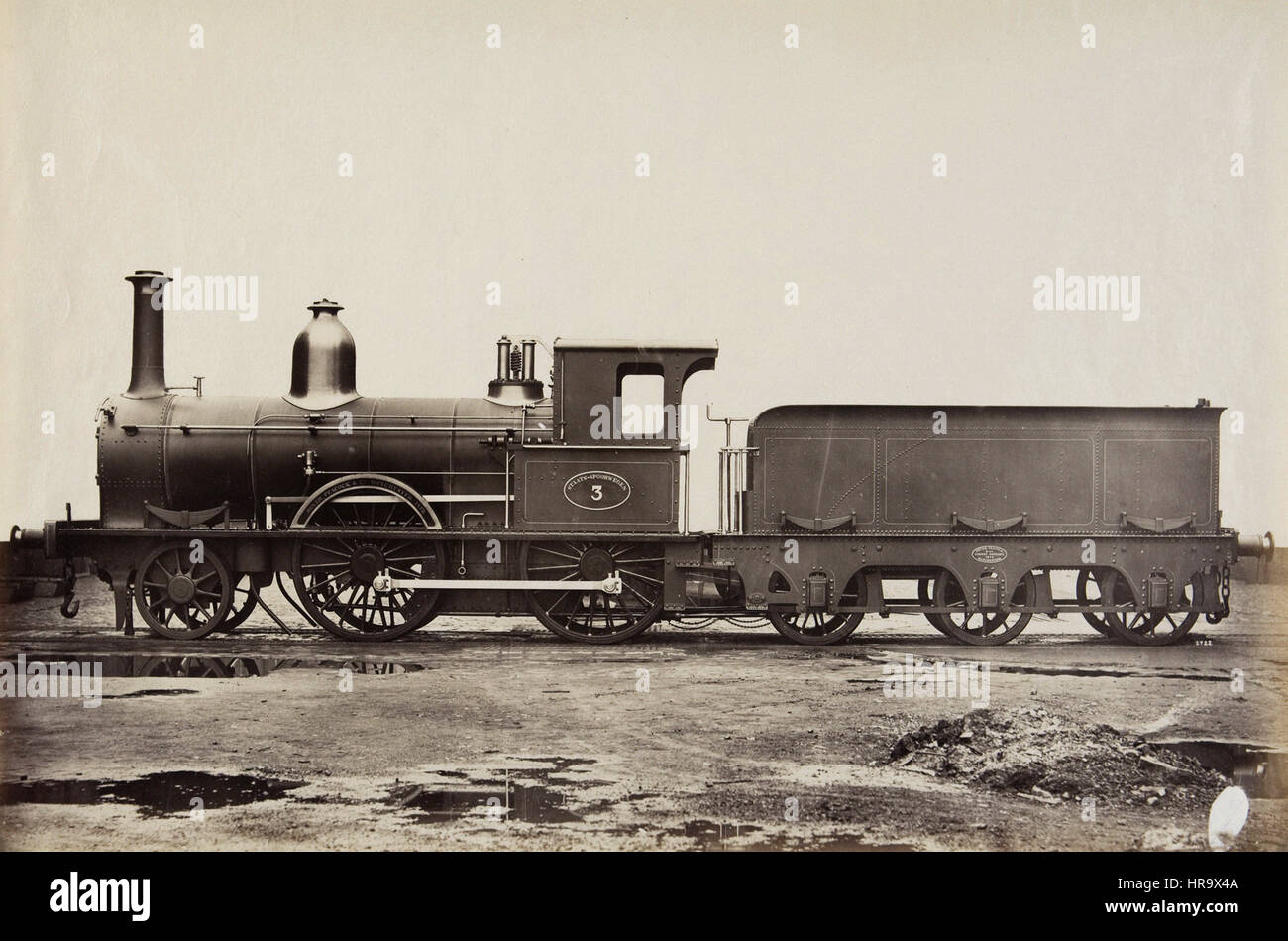 Dutch States Railway, Beyer Peacock Manufacturing, Manchester - Stock Image