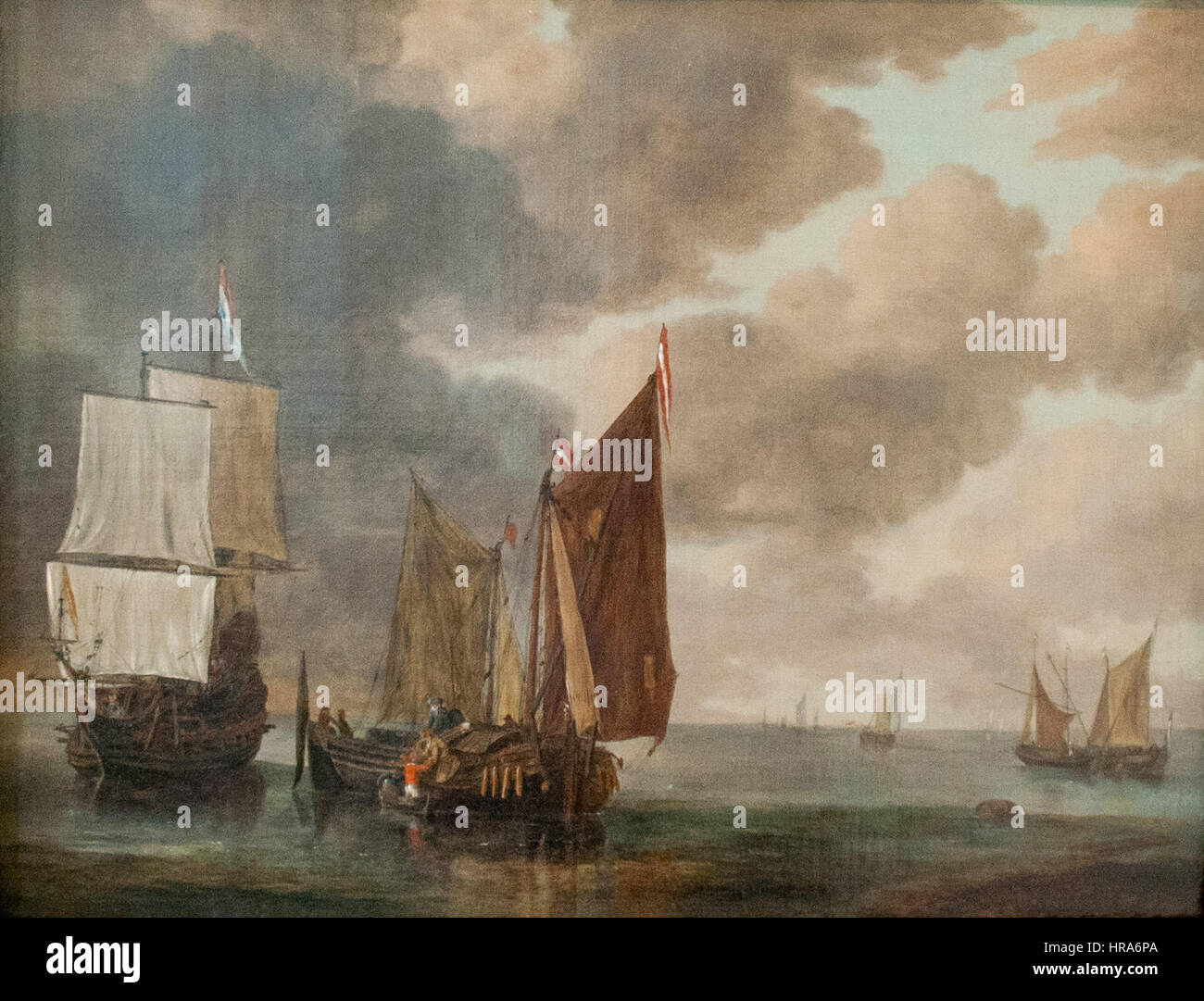 Reinier Nooms - Seascape - Stock Image