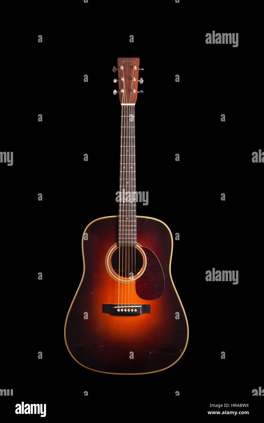 2002 Martin Hd 28v Acoustic Guitar Stock Photo 134838534 Alamy