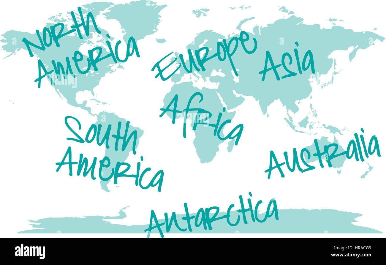 Abstract world map with continents vector business backgroud stock abstract world map with continents vector business backgroud gumiabroncs Images