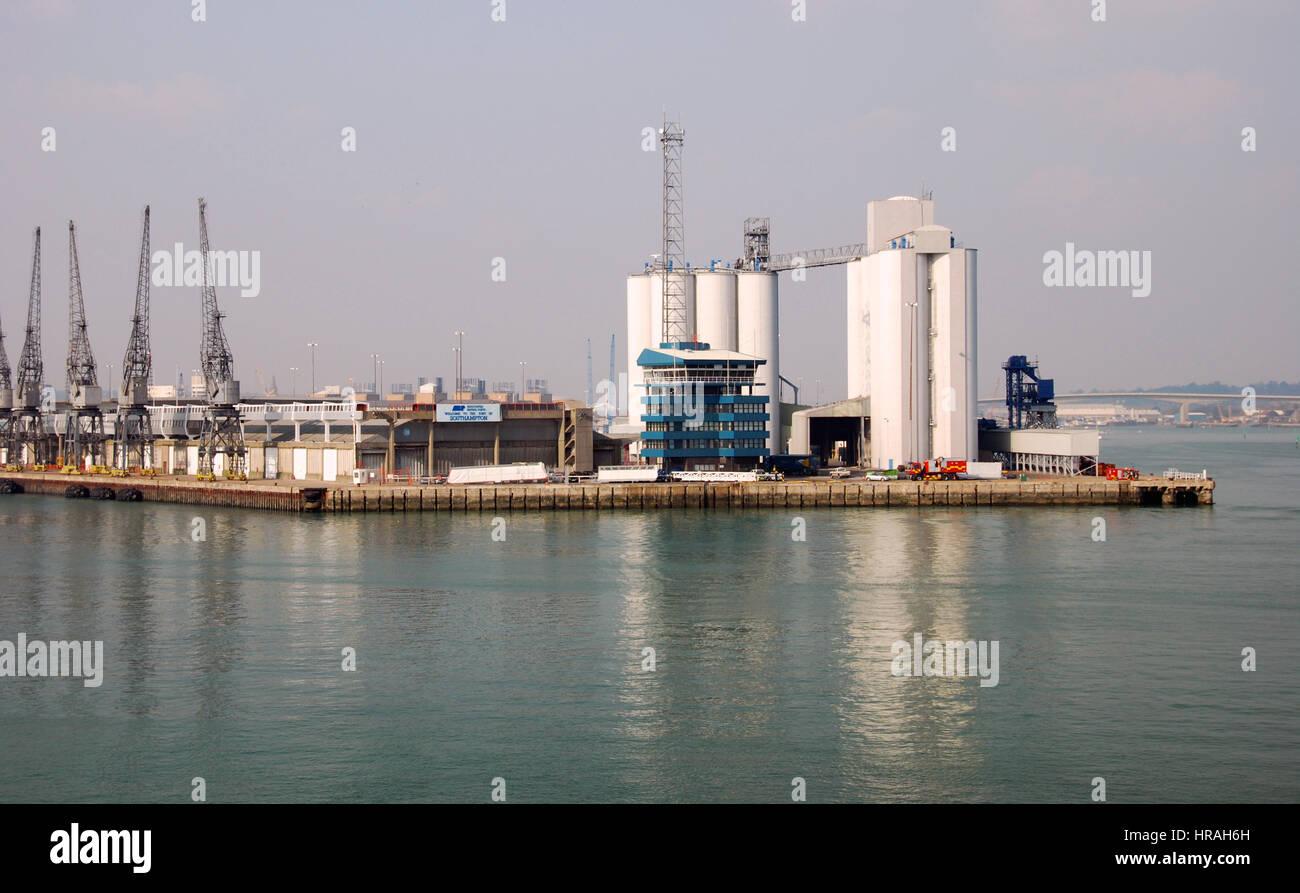 Port of Southampton, Hampshire, England - Stock Image