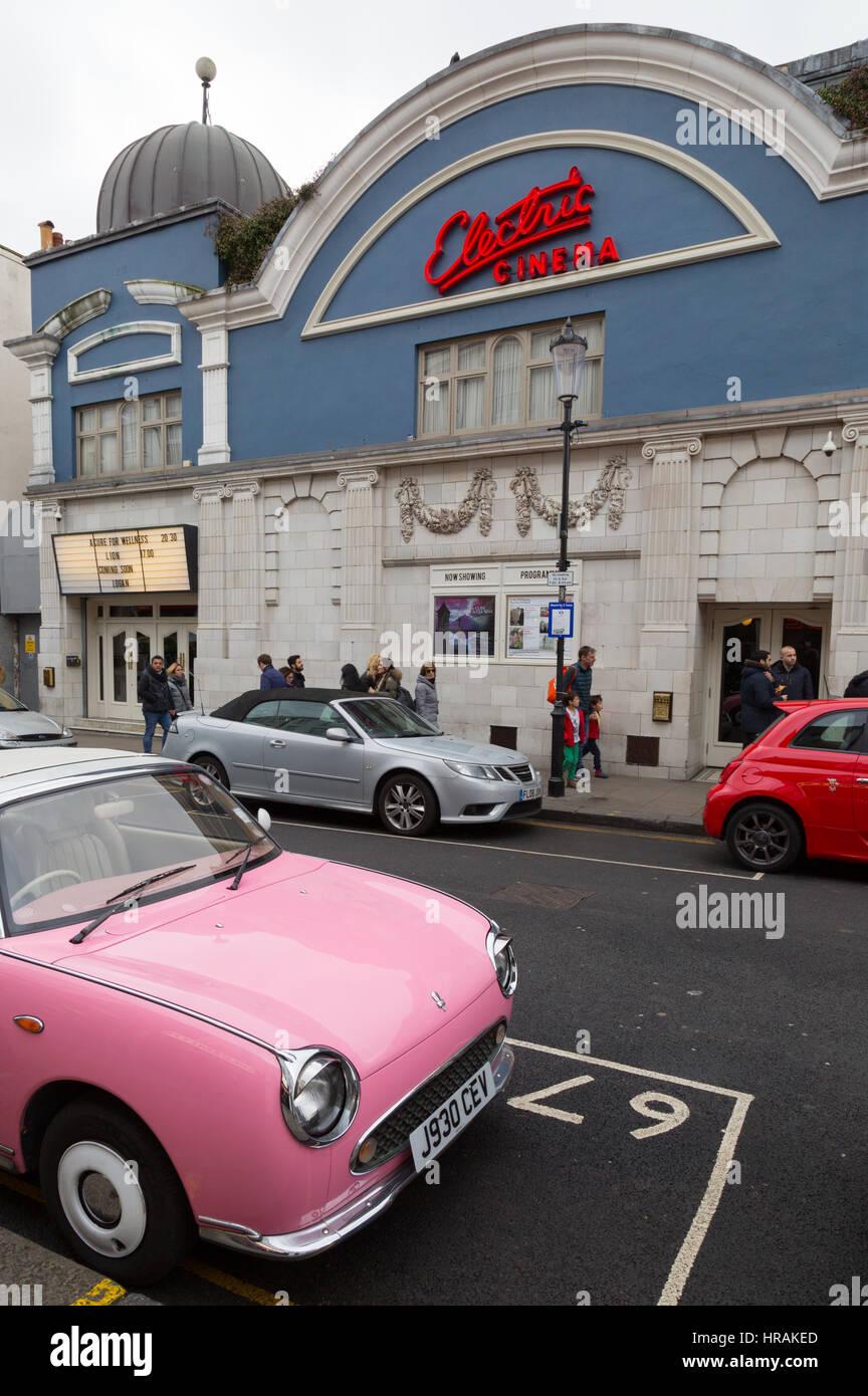 The Electric Cinema, Portobello Road, Notting Hill, London England UK - Stock Image