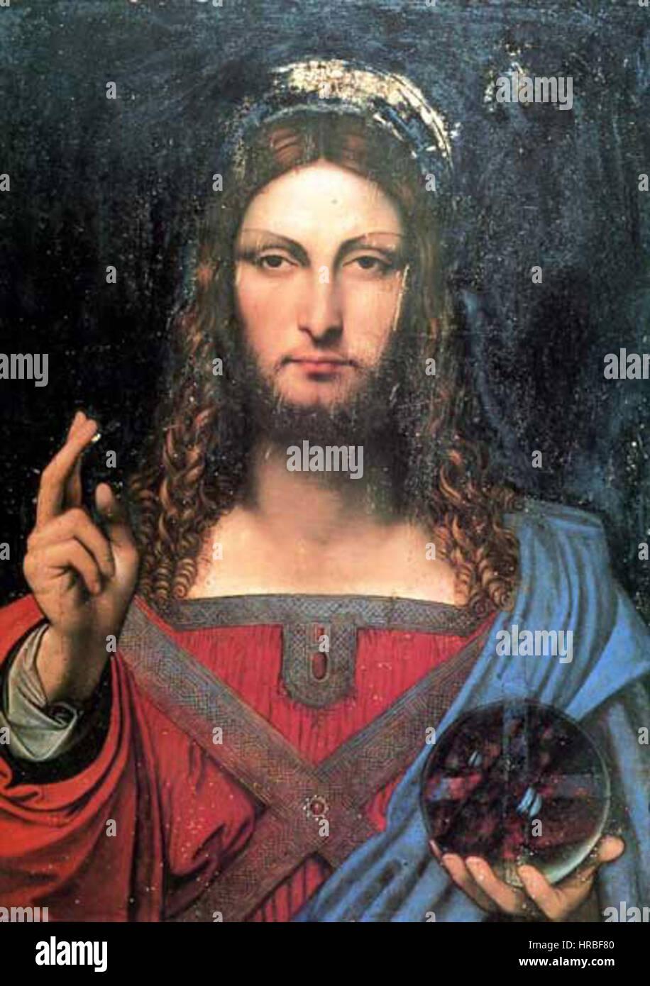 Salvator Mundi Ganay >> Salvator Mundi Ganay Stock Photo 134863120 Alamy