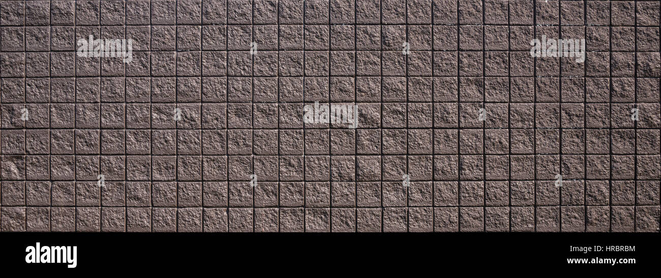 Brick wall graphic element with plenty of room to reverse out copy and images. - Stock Image
