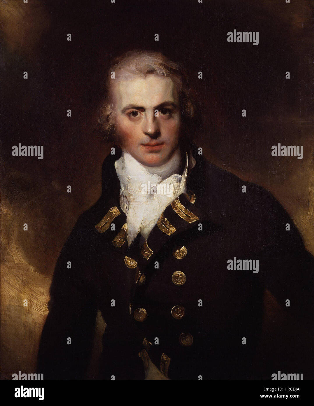 Sir Graham Moore by Sir Thomas Lawrence - Stock Image