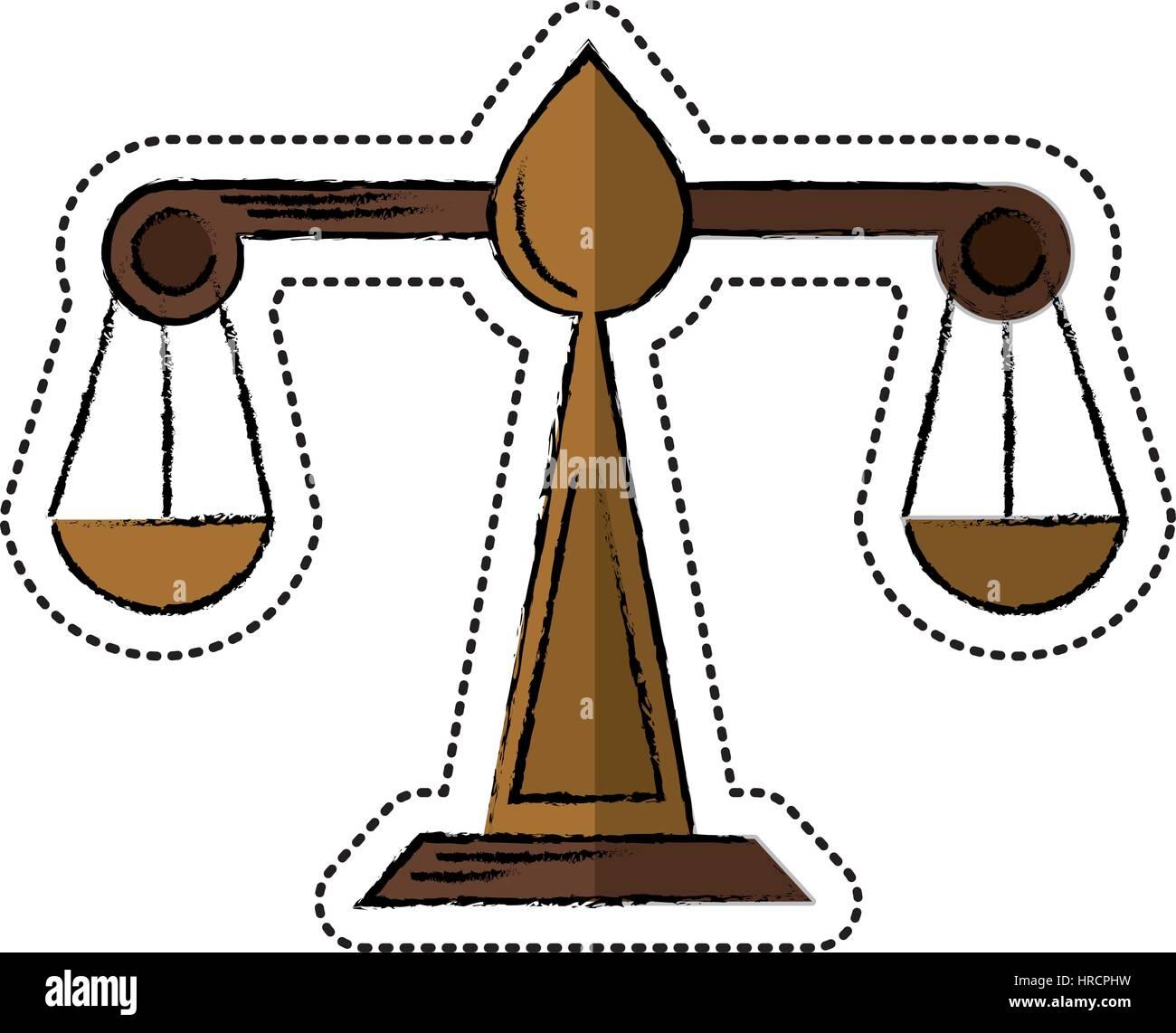 Scale Of Justice Cartoon Stock Photos Scale Of Justice Cartoon