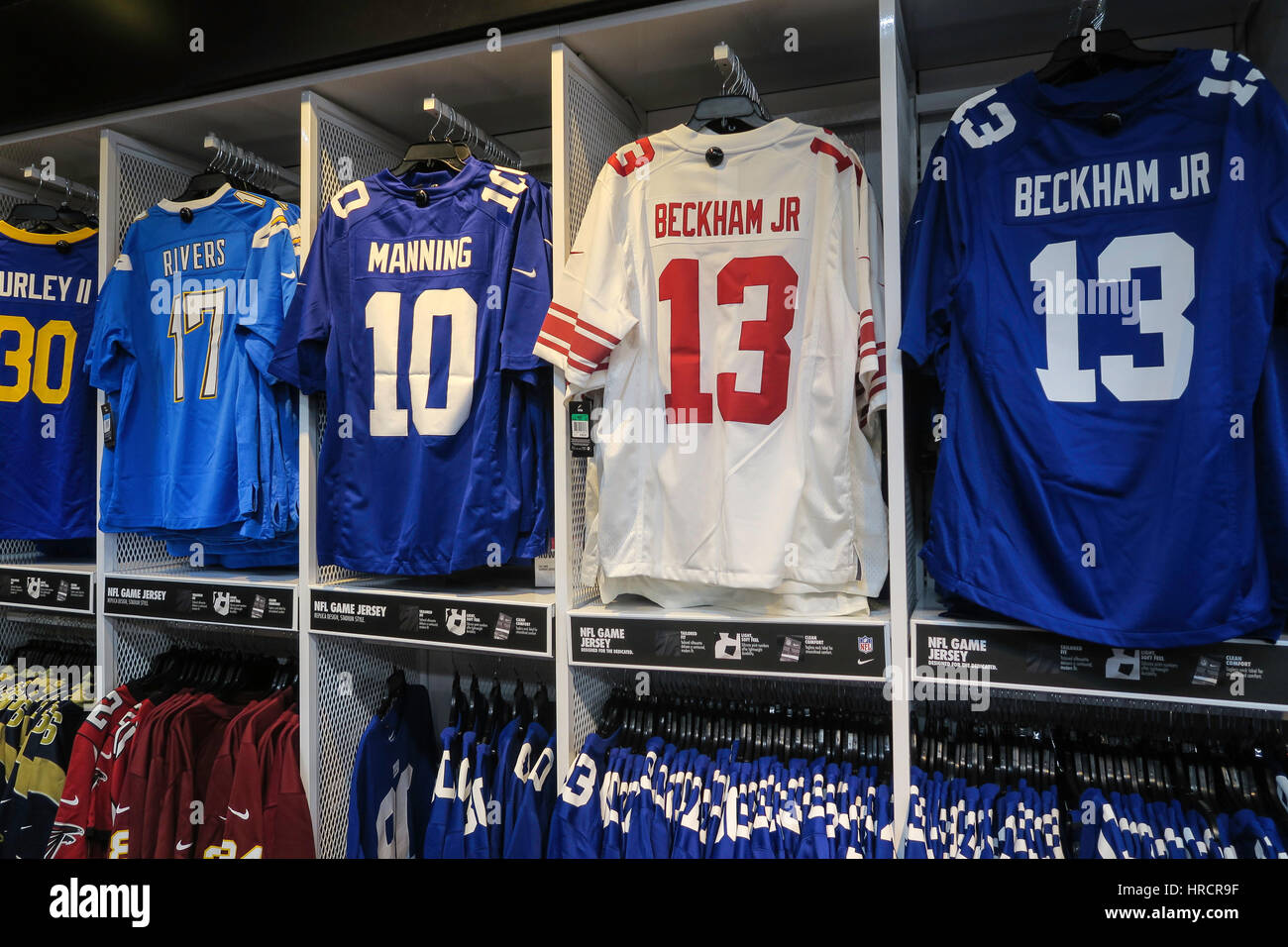 outlet store acaad c04ca NFL Branded Clothing Display, Modell's Sporting Goods Store ...
