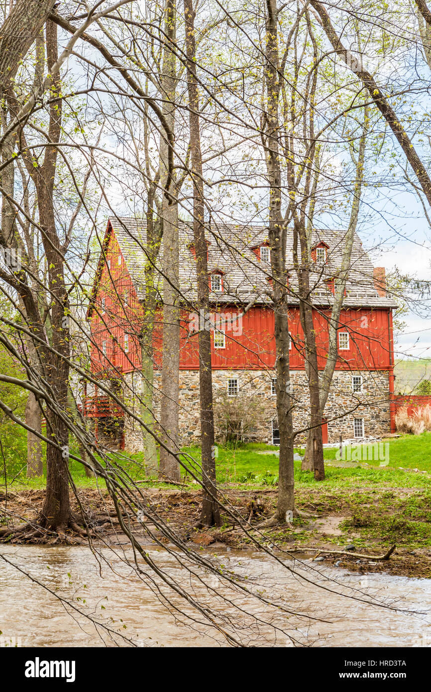 The Jerusalem Mill, Kingsville, Maryland, USA - Stock Image