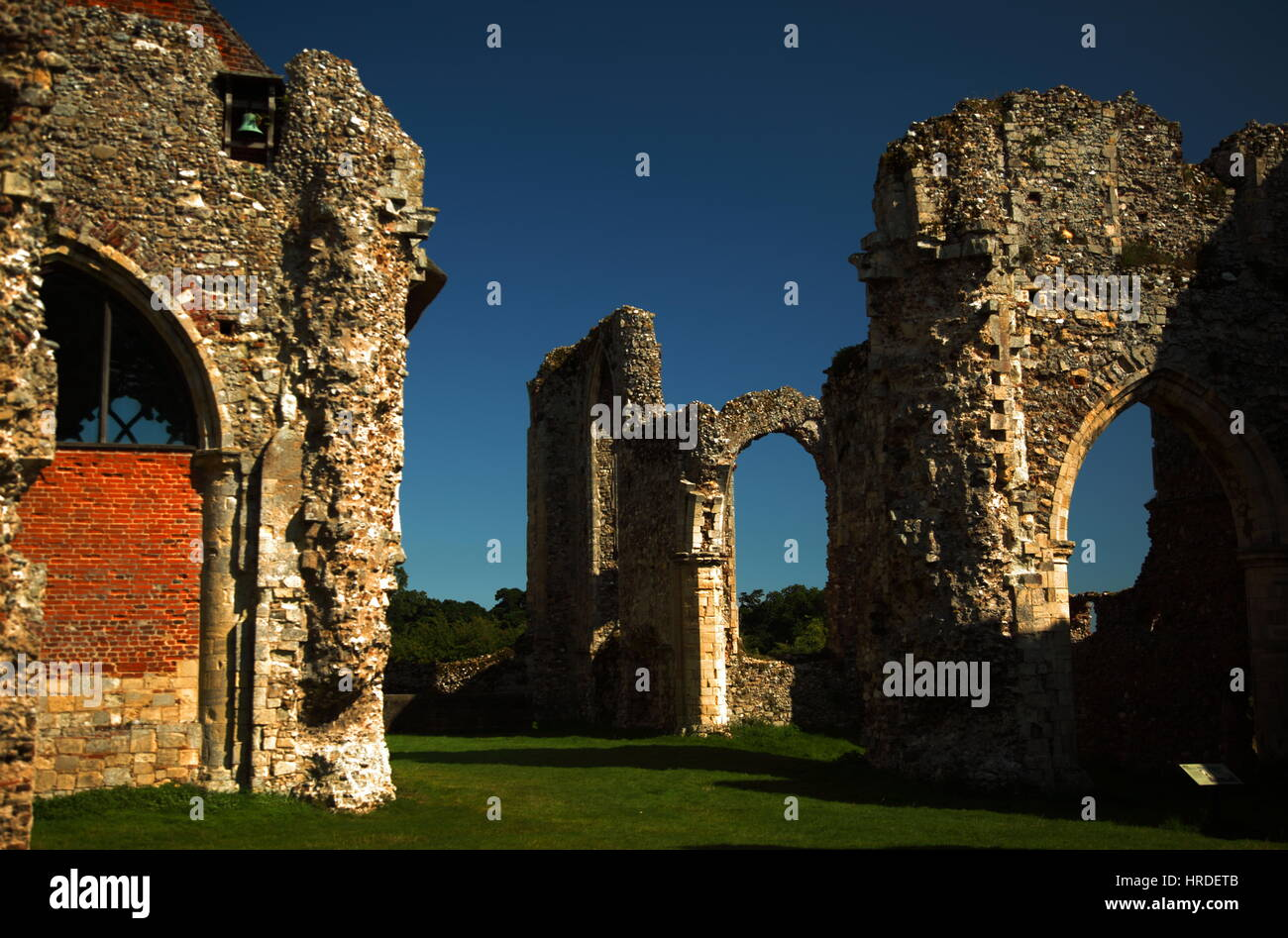 Leiston Abbey - Stock Image