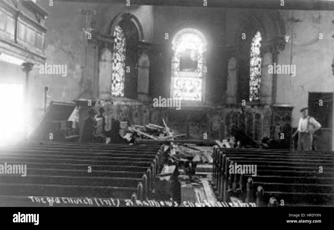 Old St Matthew Chapel Allerton - Stock Image
