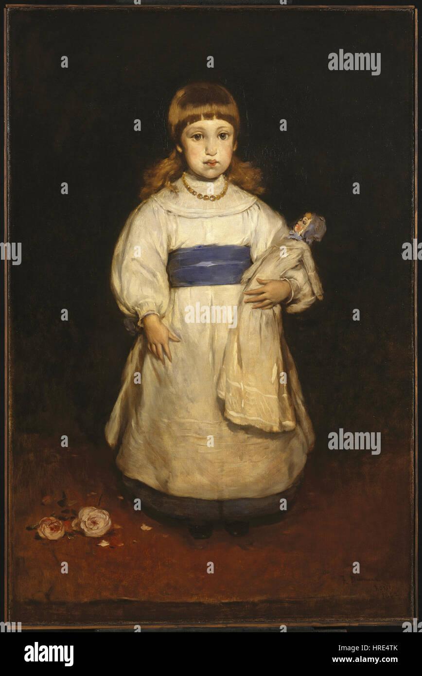 Frank Duveneck - Mary Cabot Wheelwright - Google Art Project - Stock Image