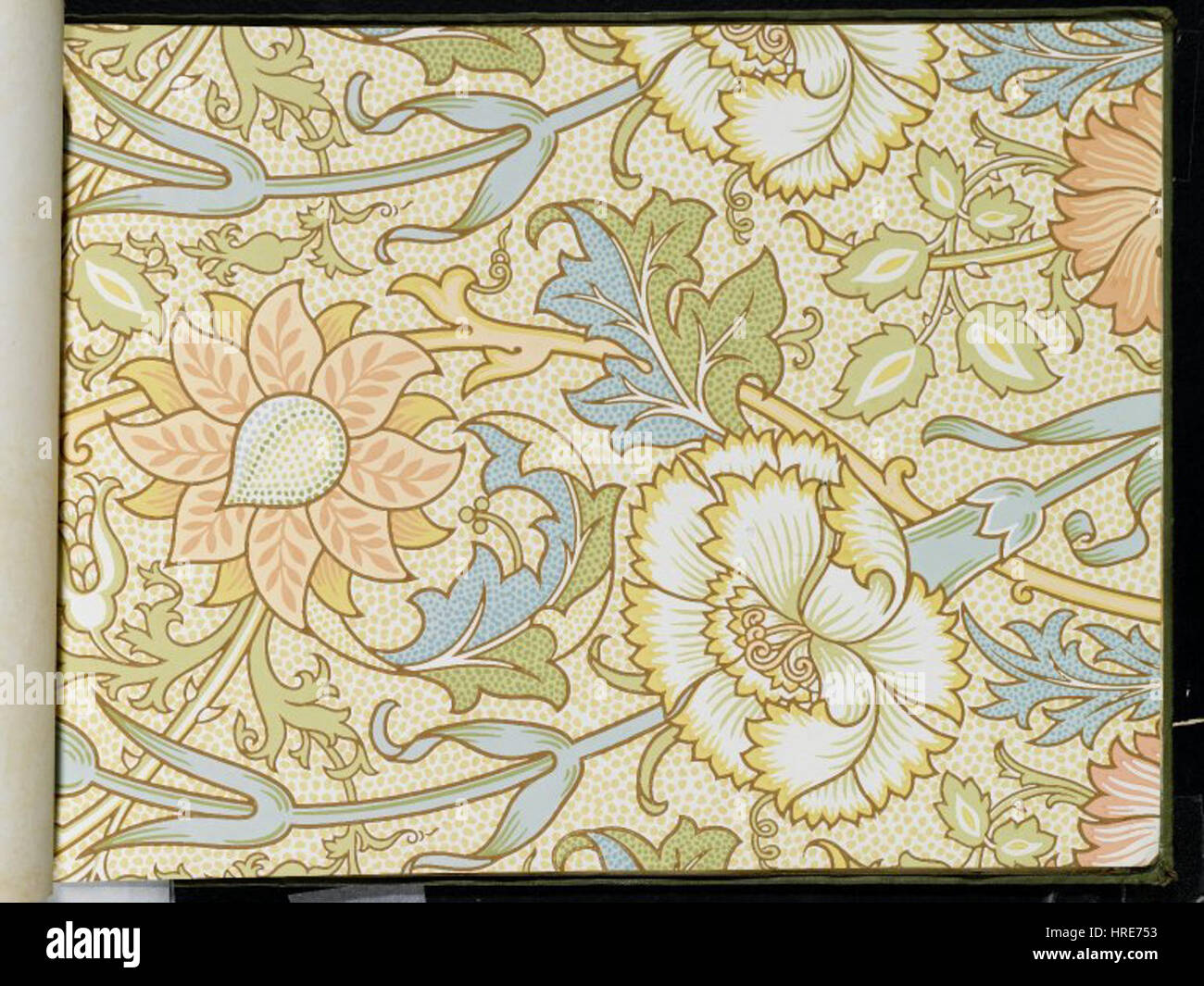 William Morris Wallpaper Stock Photos & William Morris Wallpaper ...