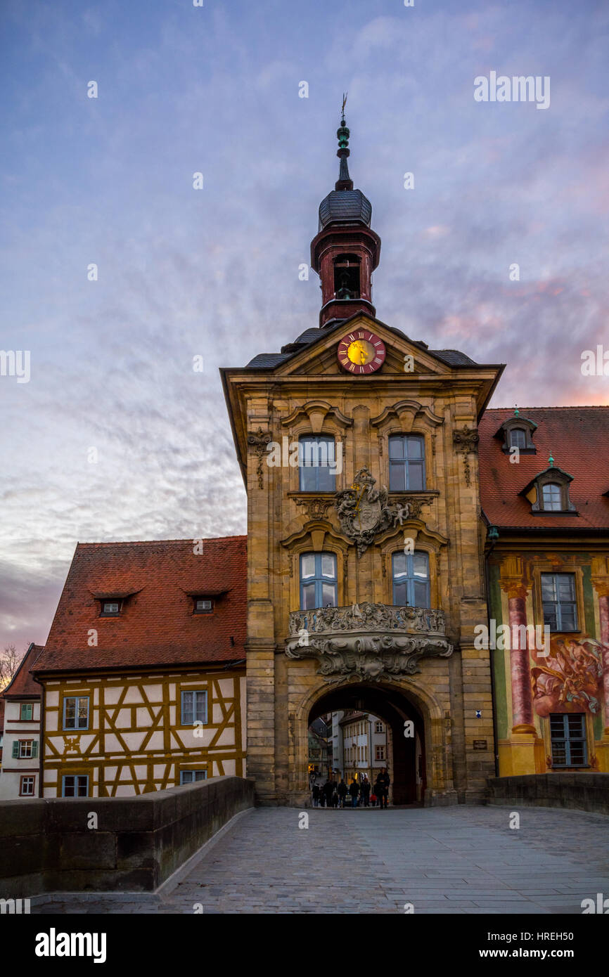 Altes Rathaus in Bamberg - Stock Image