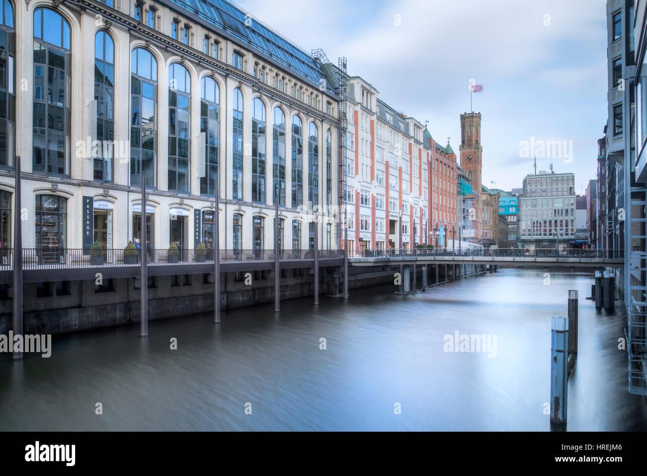 Bleichenfleet, Hamburg, Germany, Europe - Stock Image